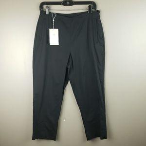 Nike Golf Pants Crop Stretch Size 6 NWT $62 Black